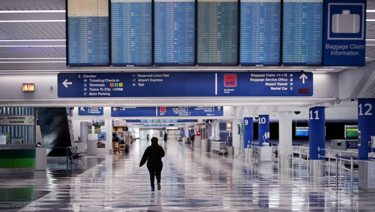 e337ac48-Airports Across Country See Dramatic Slowdown Over Coronavirus Impacts On Travel