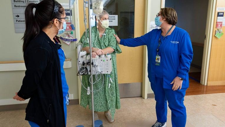 Hospitals return COVID-19 ICU