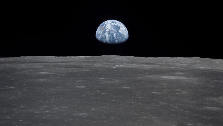 NASA moon bkgd
