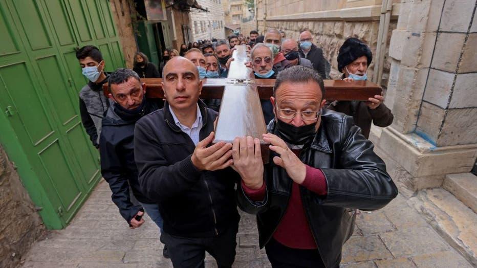 ISRAEL-PALESTINIAN-RELIGION-CHRISTIANITY-GOOD FRIDAY