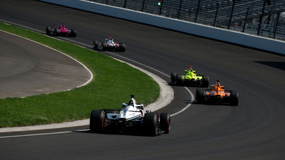 INDY CAR SERIES: APR 9 Indianapolis 500 Open Test