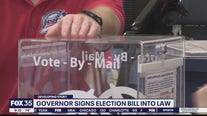 Governor signs election bill into law