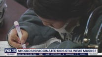 Should unvaccinated kids still wear masks?