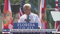 Charlie Crist announces his run for Florida governor