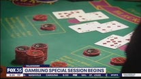 Gambling special session begins