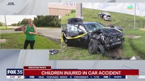 Children injured in Orlando car crash