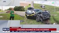 Children injured in Orlando car crash