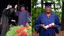 'I want the knowledge': 78-year-old woman graduates from Alabama university