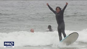 Student confidence soars through free San Francisco surf program