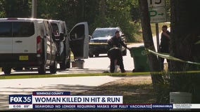 Woman killed in 'suspicious' hit-and-run crash in Lake Mary