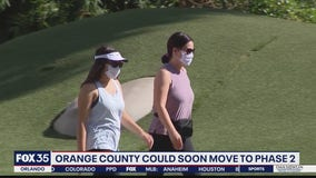 Orange County could soon move to ease some mask restrictions
