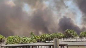 Hot, dry conditions pose increased risk of wildfires in Central Florida
