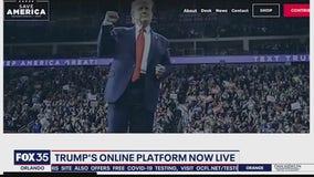 Trump's online platform now live