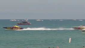 11th annual Thunder on Cocoa Beach Superboat races held Sunday