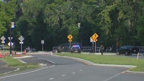 Fire Rescue: 1 dead, 1 injured after crash in front of Central Florida Zoo
