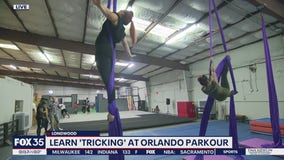 Learn 'tricking' at Orlando Parkour