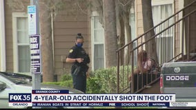 4-year-old injured after accidentally shooting gun, Orlando police say