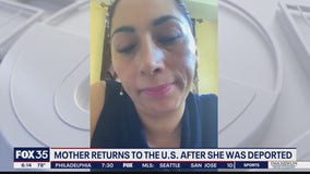 Back in Florida, deported military spouse takes on new mission