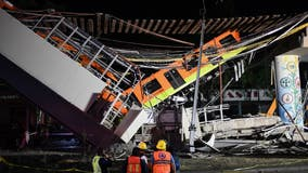 Mexico City metro overpass collapses onto road, killing 23