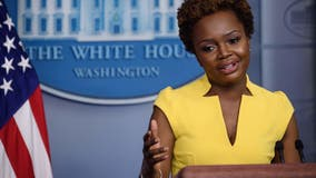 Karine Jean-Pierre makes history as first openly gay woman to deliver White House press briefing