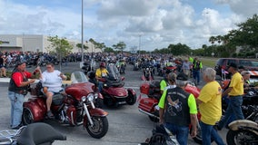 Motorcyclists gather in Central Florida for 'Rolling Thunder' rally