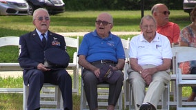3 WWll veterans honored at Memorial Day ceremony