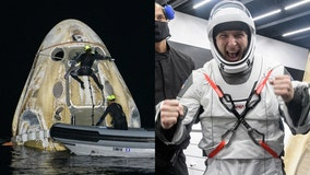 PHOTOS: SpaceX Crew-1 astronauts back on Earth after splashdown