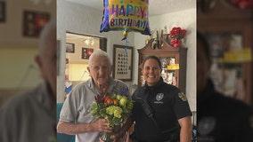 Orlando police officer, WWII veteran develop lasting friendship