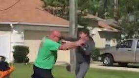 Video shows fists flying during road rage incident in Florida, sheriff says