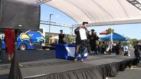 Seminole State College holds drive-thru graduation