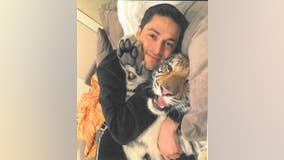 Victor Cuevas, man behind tiger roaming streets of west Houston pens love letter to big cat