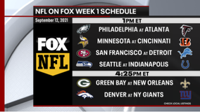 NFL on FOX: Week 1 schedule