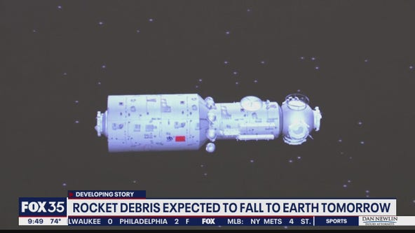 Chinese rocket debris expected to fall to Earth on Saturday