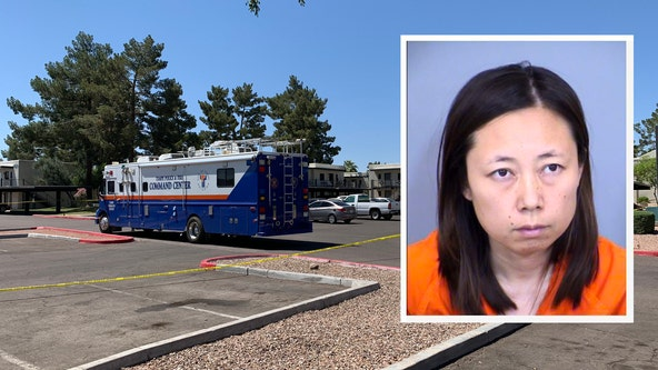 PD: Tempe mother accused of murdering her two children with meat cleaver