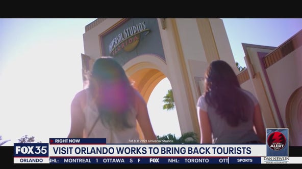 Visit Orlando works to bring back tourists
