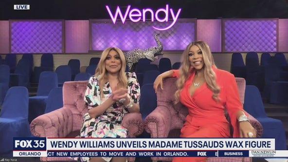 Wendy Williams unveils Madame Tussauds wax figure