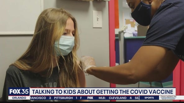 Talking to kids about getting the COVID vaccine