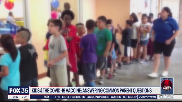 Kids and the COVID-19 vaccine: Answering common parent questions