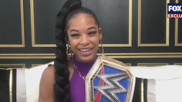 EXCLUSIVE: Bianca Belair speaks with FOX 35 after big win at WrestleMania