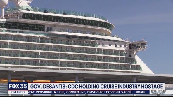 Gov. DeSantis calls cruise industry halt 'fundamentally unfair'