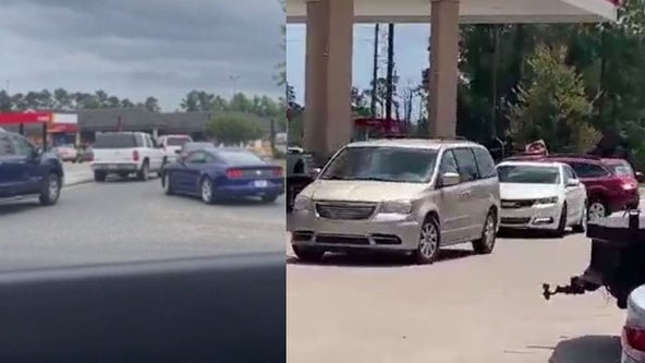 Massive lines build across Central Florida as people fill up on gas
