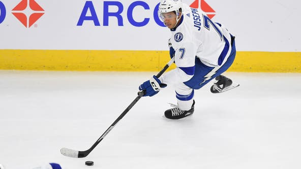 An NHL rarity: Tampa Bay Lightning start all-Black forward line