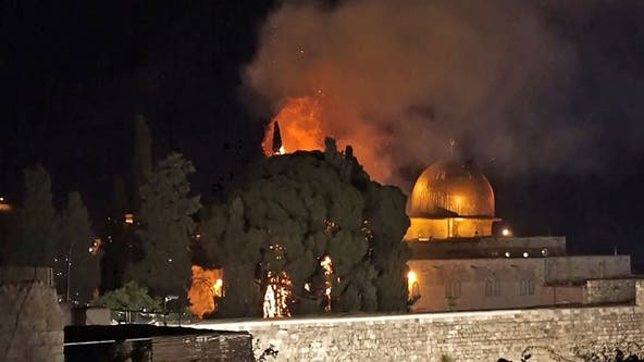 Hamas fires rockets into Israel after clashes at revered mosque