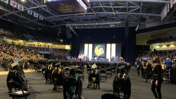 UCF holds in-person graduations