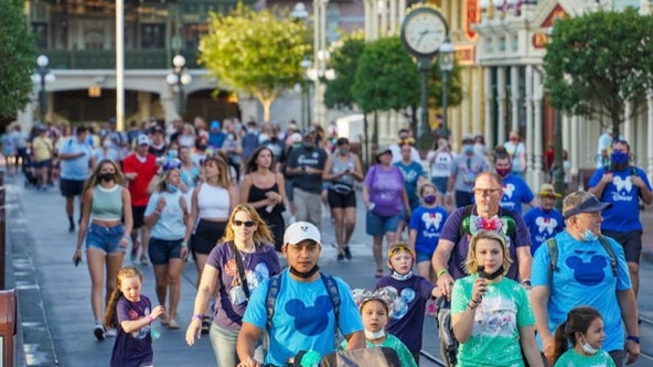 PHOTOS: Guests walk through Disney, Universal without masks for 1st time in over a year