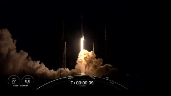 SpaceX completes successful launch of 27th batch of Starlink satellites early Sunday morning