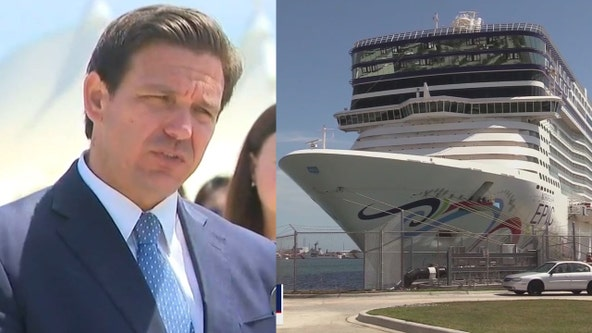 DeSantis: Florida will fill void if small cruise lines leave over ban on vaccine passports