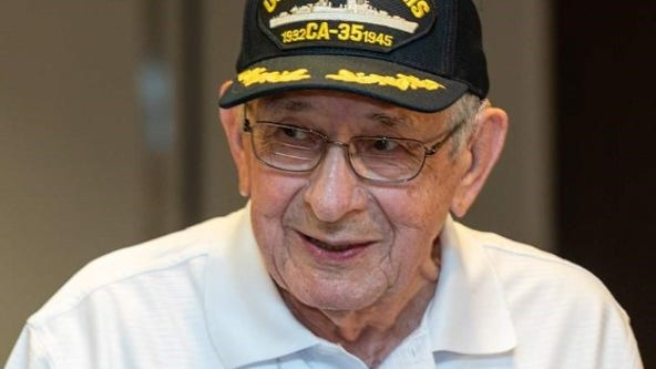 'A great patriot': Last surviving Marine of USS Indianapolis sinking, Edgar Harrell, dies