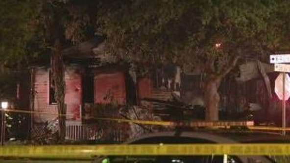 Fire tears through historic home in Sanford