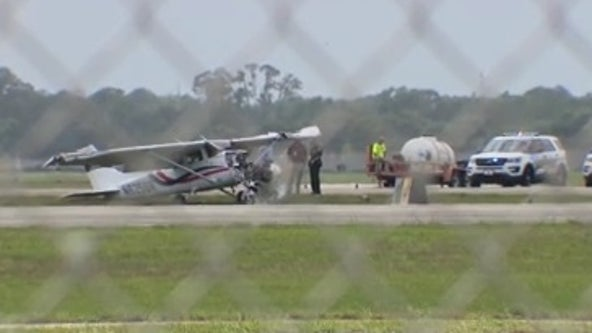 Officials: Small plane crashes at Daytona Beach airport